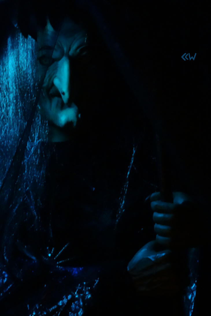 Witch in Blue by Crigger