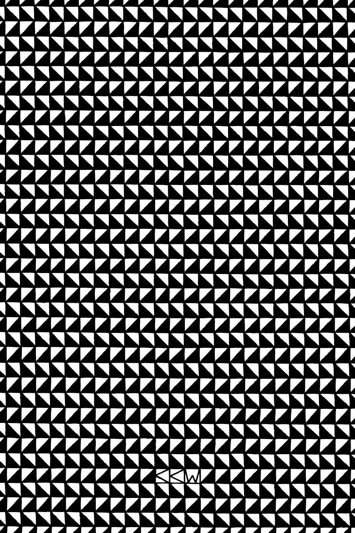 Lots of (EVIL) Black and White Triangles by Crigger