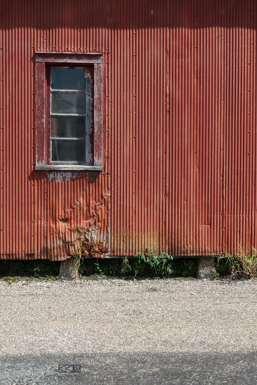 Side of a building in Westby, WI 8/15/2015 2:14PM by Crigger
