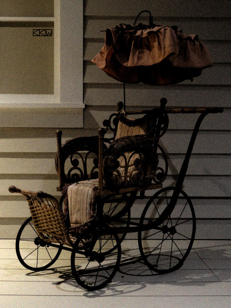 Childhood Artifact: Baby Carriage by Crigger