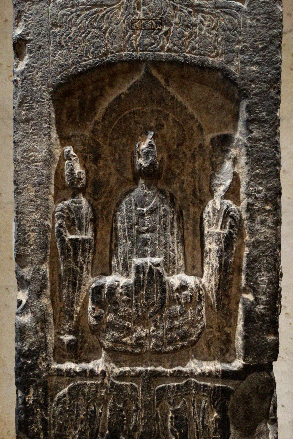 UnknownCarvedStoneRelief-possibly of Criggerthulhu by Crigger