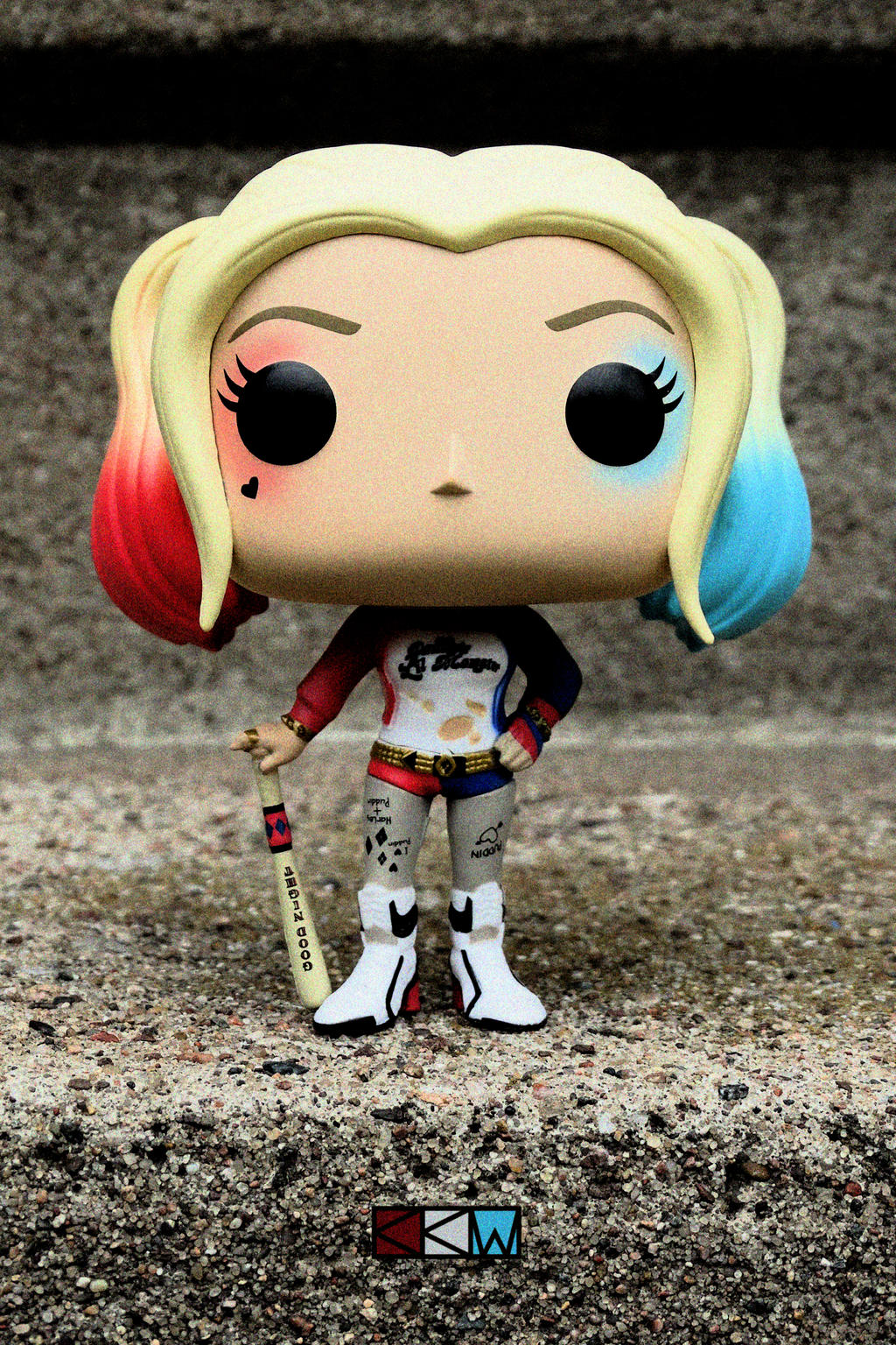 Harley Quinn from Suicide Squad,FunkoPop!Movies#97 by Crigger