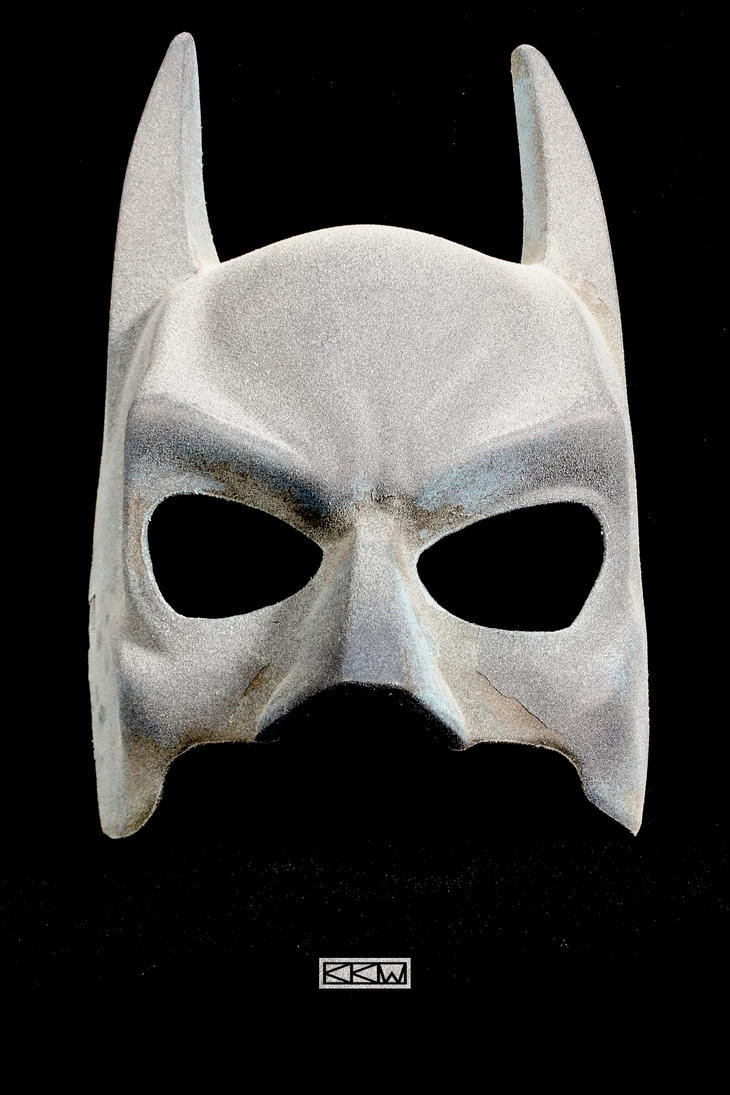 Customized mass-produced Batman mask for Crigger by Crigger