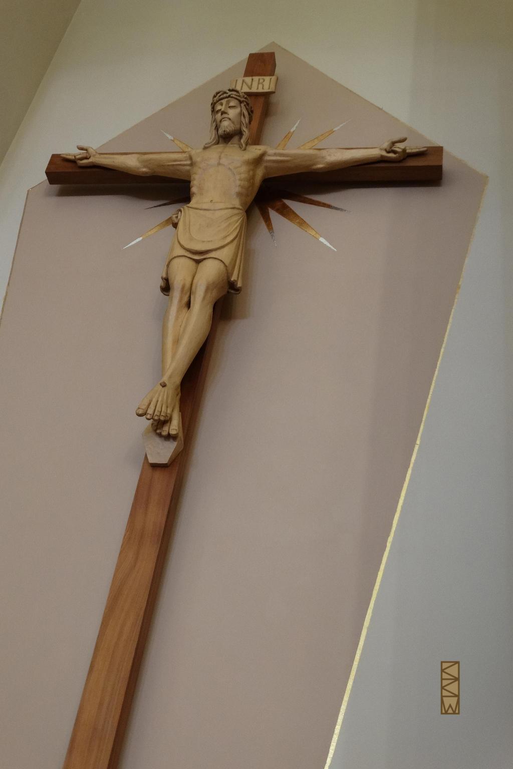 Jesus on the Cross at St. Joseph Parish by Crigger