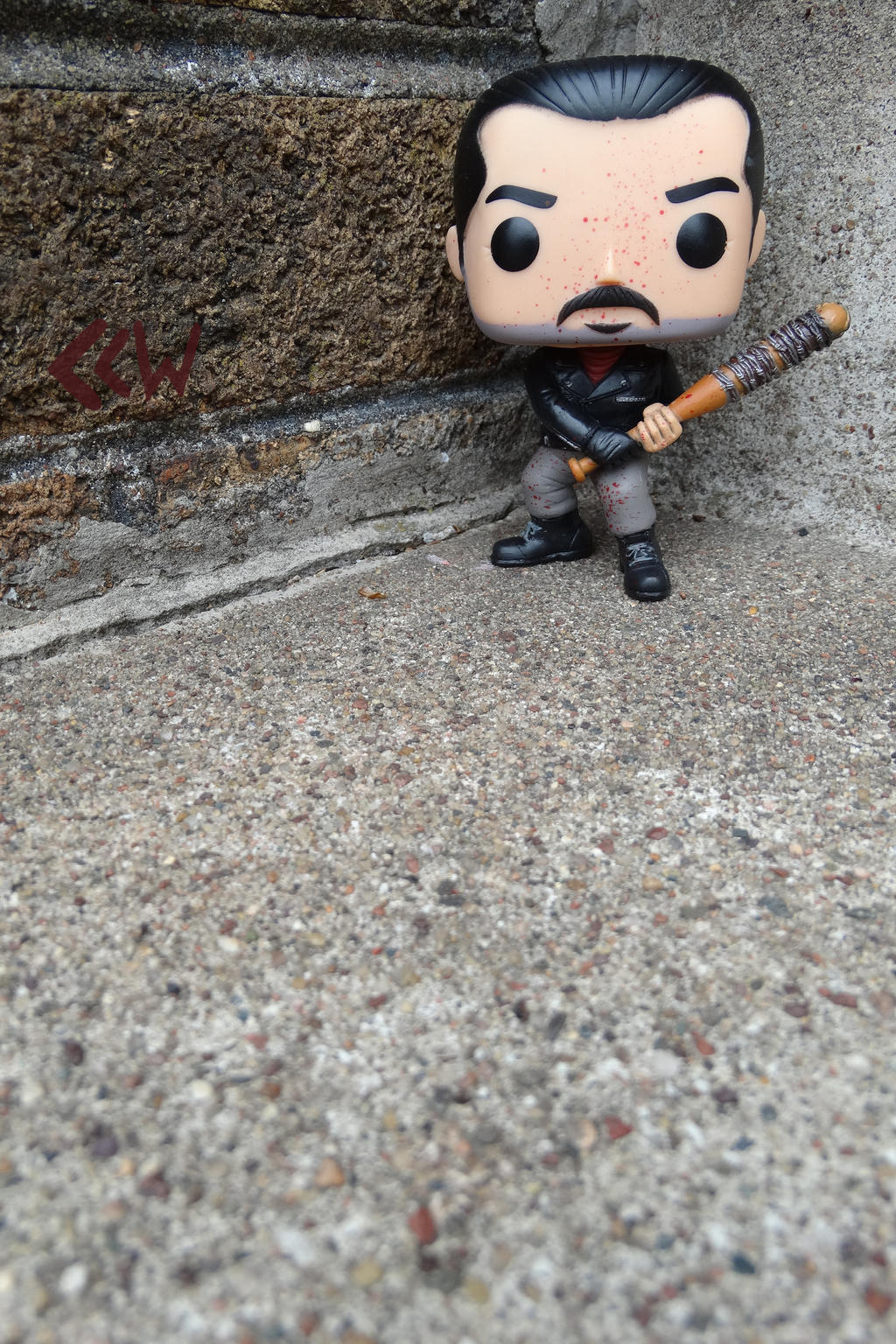 Negan from The Walking Dead, Funko Pop! Movies 390 by Crigger
