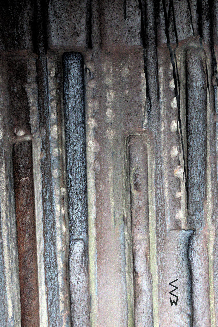 Detail of a Mining Excavator Bucket by Crigger