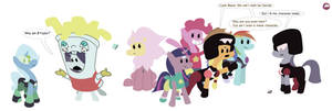 MLP cosplay Steven Universe ~ Group