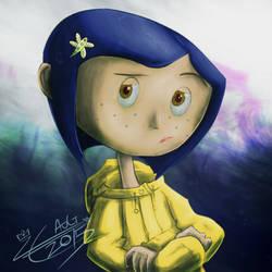 It's Coraline by LiraCrown