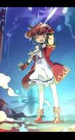 MapleStory - EVAN girl by AL-lamp