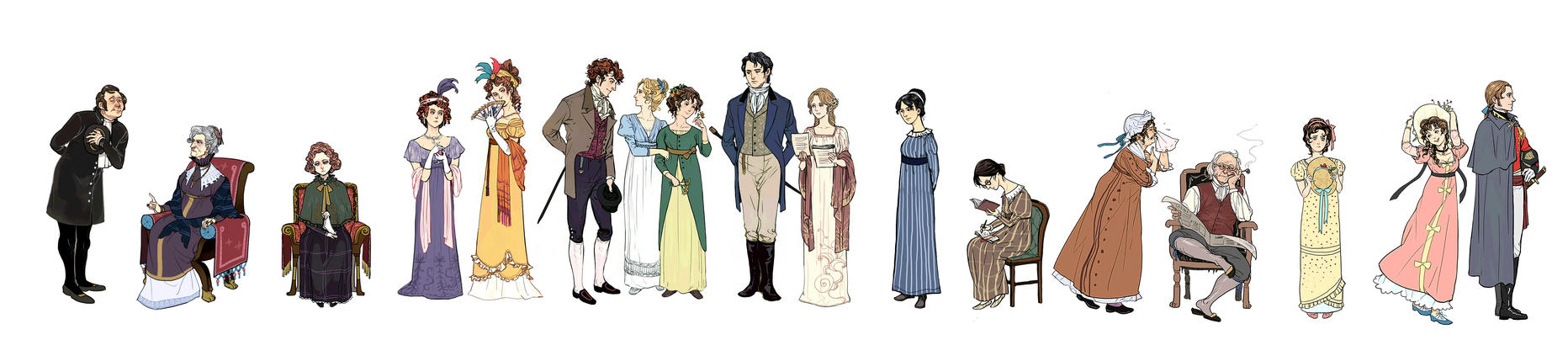 Pride and Prejudice by AL-lamp