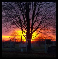 A Hidden Sunset by fyre-eyes