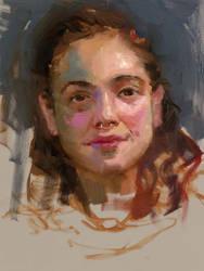 Community-Remains-Oil Portrait-Number-02