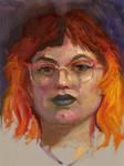 Community-Remains-Oil Portrait-Number-35