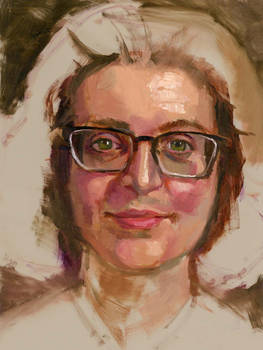 Community-Remains-Oil Portrait-Number-43