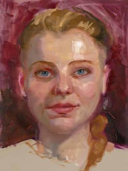 Community-Remains-Oil Portrait-Number-45