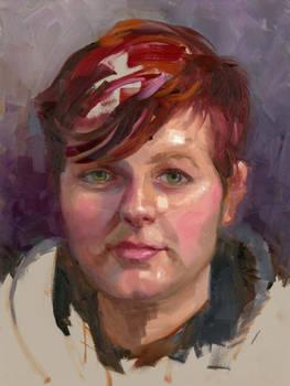 Community-Remains-Oil Portrait-Number-46