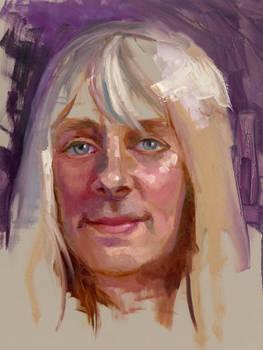 Community-Remains-Oil Portrait-Number-48