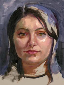 Community-Remains-Oil Portrait-Number-50