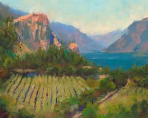 Morning Reverie - plein air oil landscape