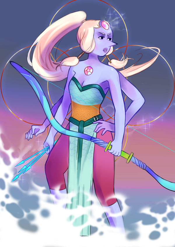 My opal print for desucon 2018.