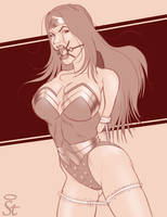Captive 40 Wonder Woman by Bound-to-please