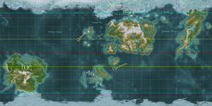 World Map of Nirn