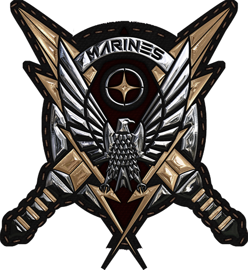 Usmc Logo Wallpaper: UEE Marines Logo By N-a-i-m-a On DeviantArt