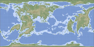 Thersis World geographical map by n-a-i-m-a