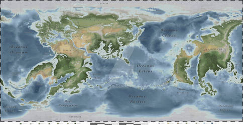 Thersis Geographycal Map