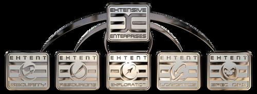 Extensive Enterprises Org logos by n-a-i-m-a