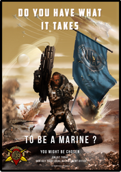 UEE Modern Poster for the Marines