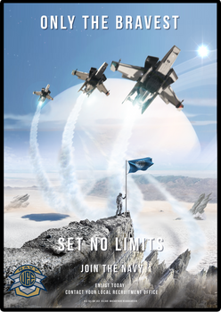 UEE Modern Poster for the Navy