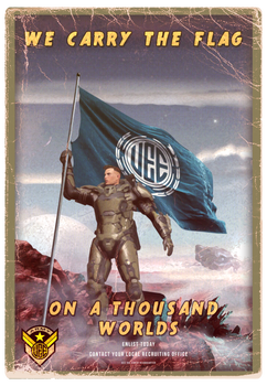 UEE Vintage Poster for the Army