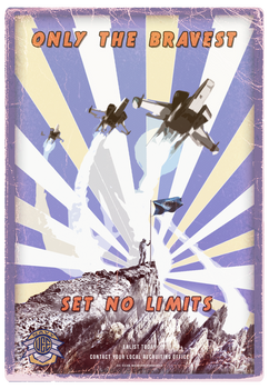 UEE Stylized Poster for the Navy