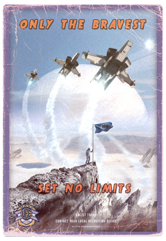 UEE Vintage Poster for the Navy
