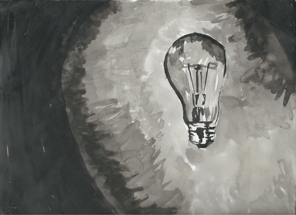 Lightbulb by DonnelliaIizsilent