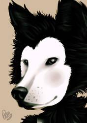 Boris The Wolf - realistic by Phinbella-Flynn