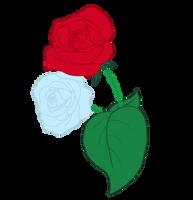 Crystal Rose Cutie Mark by Acrylicpony