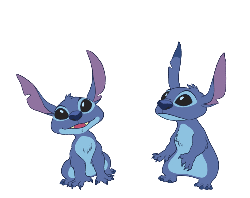 A pair of Stitch by GenJoany