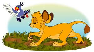 The Lion Emperor Simba