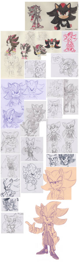 Dynamic Duo sketch collection