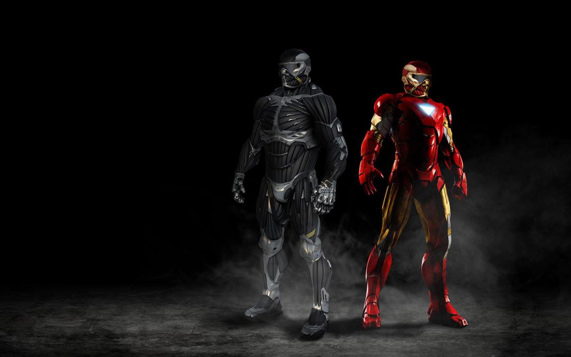 Nanosuit Crysis Iron Man Combination By Biostate56 On