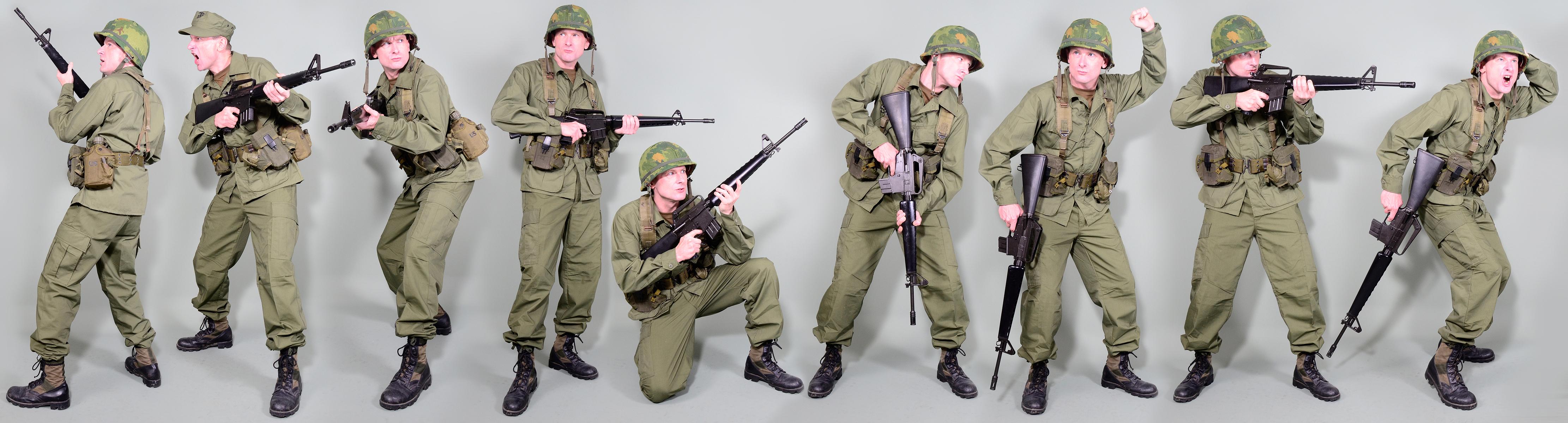 Military Uniform Us Soldiers Vietnam War By Mazuskarl On Deviantart