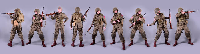 Military - uniform US soldiers WW2 airborne (1)
