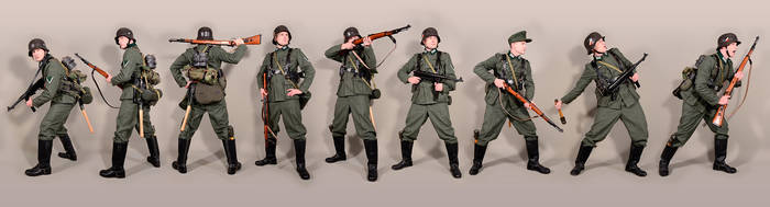 Military - uniform German soldiers WW2 by MazUsKarL