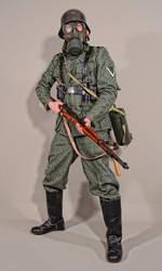 Military - uniform German soldiers WW2 - 01 by MazUsKarL