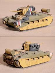 British tank Matilda Mk3 (1:35 Tamiya) by MazUsKarL