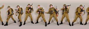 Military - uniform Soviet soldiers afganka