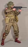 Military - uniform US soldiers WW2 airborne 03