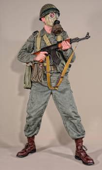 Military - uniform Polish infantry LWP moro - 01